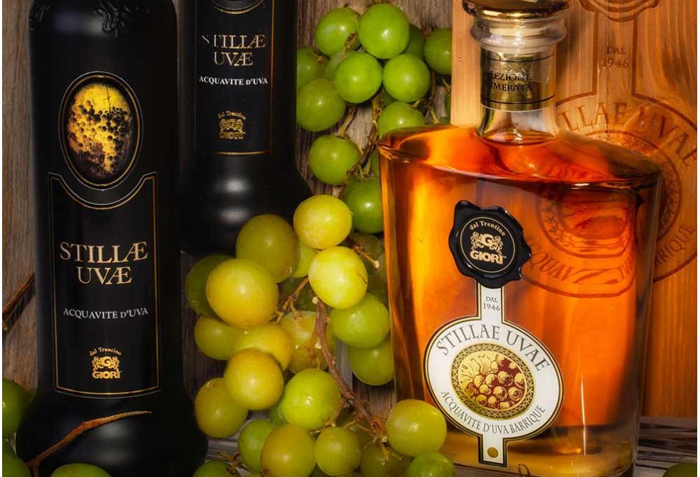 Stillae Uvae, distillato d'uva